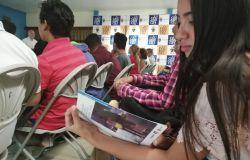 El OMIH entrega equipamiento al CURC y presenta publicación sobre Juventud, Migración y Empleo