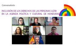 Conversatorio: Inclusión de los derechos de las personas LGTBI en la agenda política y cultural de Honduras