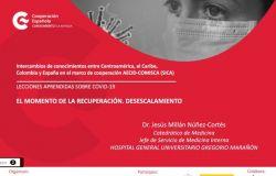 Honduras participa en jornada de intercambio de conocimientos sobre el COVID-19