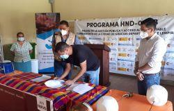 Oficinas de la Unidad Municipal de Agua y Saneamiento de Gracias se inauguran y reciben donación de equipo por parte de la Cooperación Española para la gestión del sistema de agua potable y alcantarillado